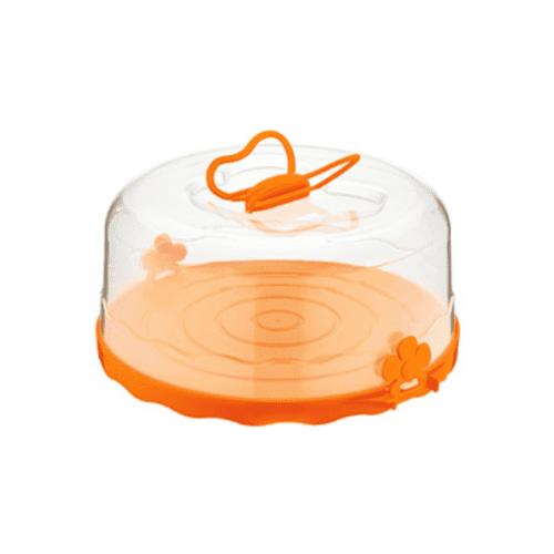 """Кутия за торта """"Пеперуда"""" 26см./кутия с капак за съхранение на торти"""