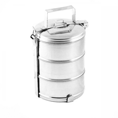 Метални сеферчета за храна 3-ка 16см.
