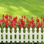 """Декоративна ограда """"Мини"""" 21 см. Бяла"""