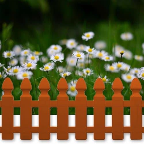 """Декоративна ограда """"Мини"""" 24см. Керемида"""