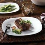 PARMA Сервиз чинии за основно ястие 27см./квадратни чинии