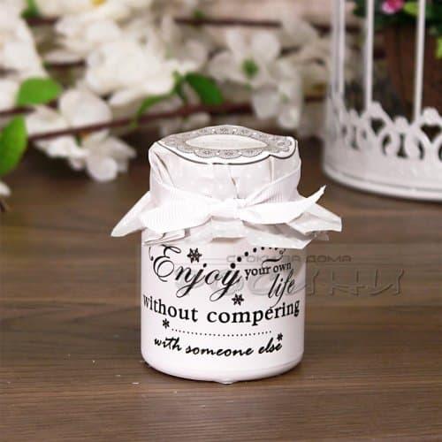 Ароматна декоративна свещ Enjoy Life