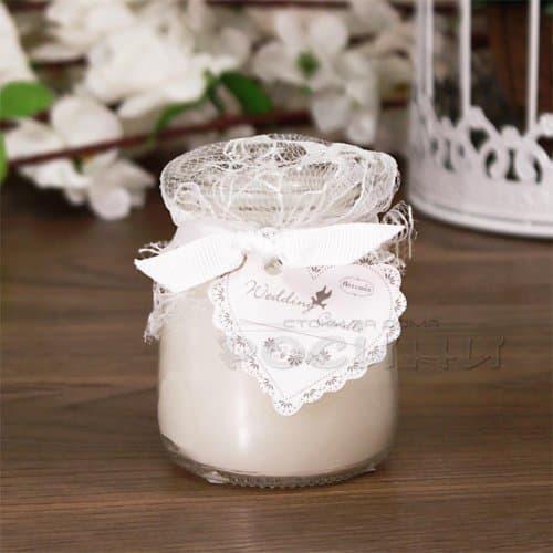 Ароматна декоративна свещ Wedding Candle