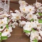 Декоративен стрък Ябълков Цвят/изкуствени цветя за декорация