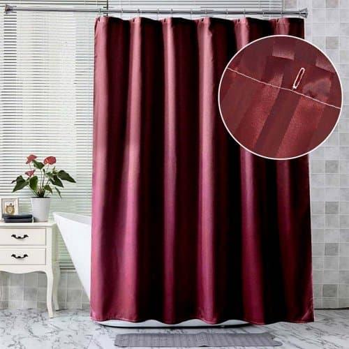 Завеса за баня 180х180 см. Бордо