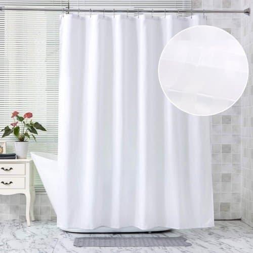 Завеса за баня 180x180см. Бяла