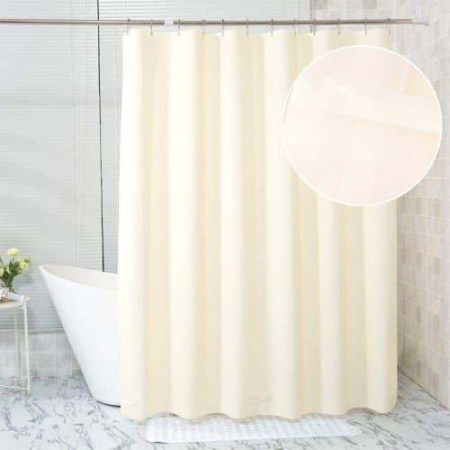 Завеса за баня 180x180см. Кремава