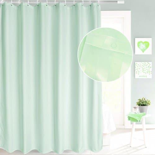 Завеса за баня 180х180 см. Зелена