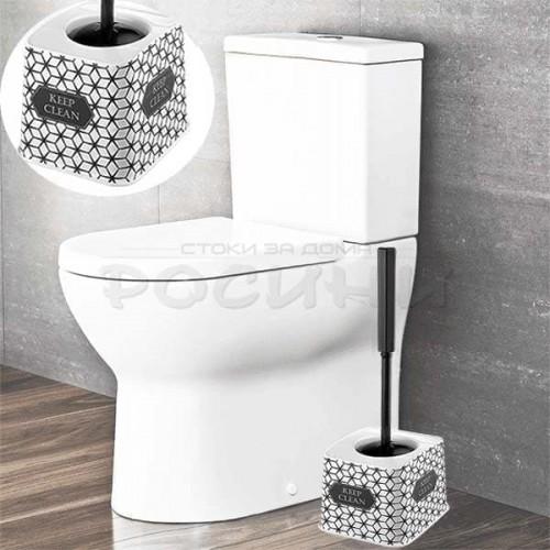 """Модерна четка за тоалетна чиния """"Keep Clean""""/wc четки"""