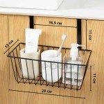 Метална кошница органайзер за врата на кухненски шкаф