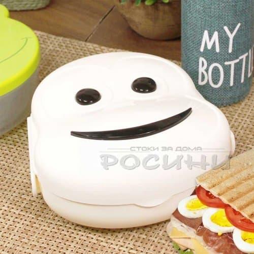 Детска кутия за сандвич Маймунка
