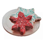 Малка въртяща поставка за декорация на бисквити, кексчета Ф12,4 см.