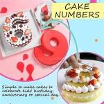 Силиконова форма ЦИФРА 9 за торта, сладкиш/силиконов молд