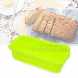 Силиконова форма за хляб, кекс, руло 24 см/правоъгълна силиконова форма