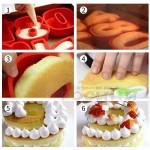 Силиконова форма ЦИФРА 3 за торта, сладкиш/силиконов молд