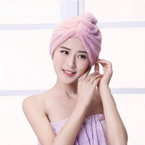 Микрофибърна кърпа за глава/шапка за баня
