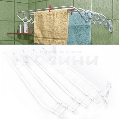 Компактен,стенен сушилник за дрехи Brio