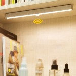 LED сензорна лампа за дома с 20 светодиода и USB зареждане