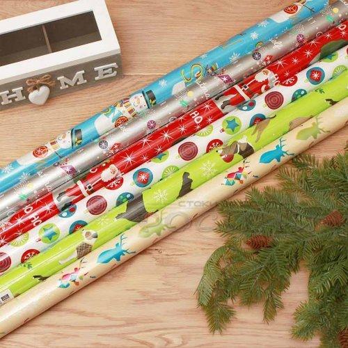 Опаковъчна хартия с Коледни мотиви