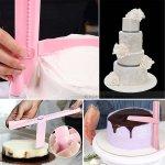 Сладкарски инструмент за заглаждане на торта 23,5 см.