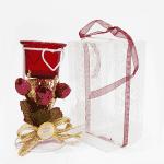Свещник с декорация 15см./свещници за подарък