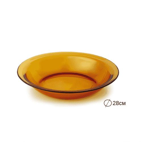 DURALEX Чиния/плато 28см. Vermel/съдове за хранене