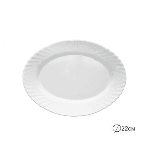 EBRO Чиния/плато 22см./съдове за сервиране от аркопал