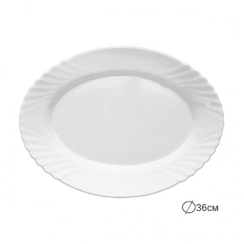 EBRO Чиния/плато 36см./съдове за сервиране от аркопал