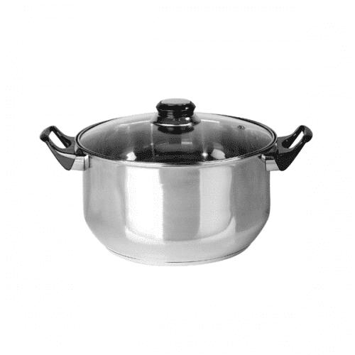 Тенджера с капак 22см/съдове за готвене