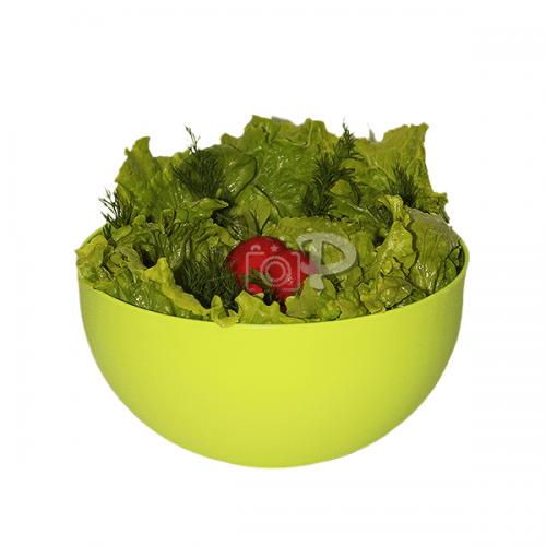 Пластмасова купа за салата,плодове 2,5л