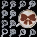 Шаблони за кафе 4бр. Различни видове