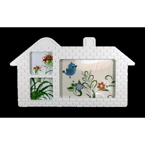 Рамка за снимки Къщичка
