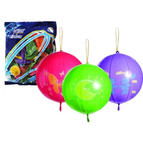 Балони GEMAR с ластик 50бр.