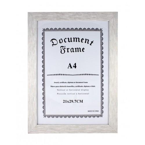 Дървена рамка за снимка/документ А4/фоторамка