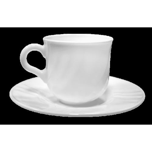 EBRO Сервиз чаши за кафе 6бр./ съдове от аркопал