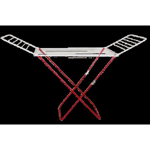 Хоризонтален сушилник за дрехи със сгъваем механизъм